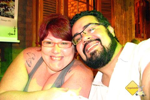 Jana Calaça e Erik Pzado em Bonito. Imagem: Erik Pzado