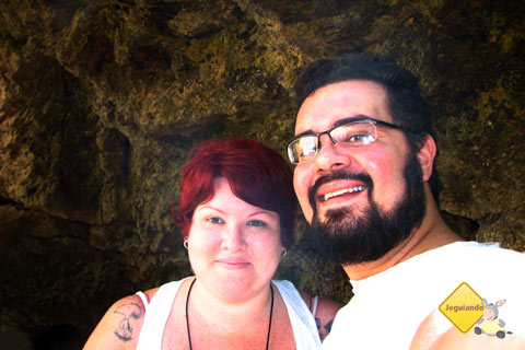 Jana Calaça e Erik Pzado. Trilha da Boca da Onça, Serra da Bodoquena, MS. Imagem: Erik Pzado