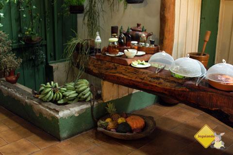 Frutas, verduras e legumes frescos. Estância Mimosa, Bonito, MS. Imagem: Erik Pzado