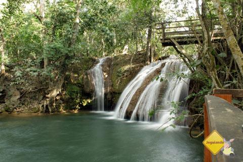 Cachoeira do Salto, Estância Mimosa, Bonito, MS. Imagem: Erik Pzado
