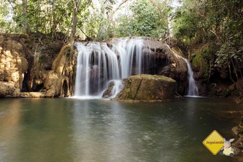 Circuito de Cachoeiras da Estância Mimosa, Bonito, MS. Imagem: Erik Pzado