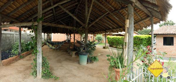 Redário. Bonito Hostel, Bonito, MS. Imagem: Erik Pzado