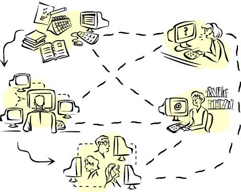 Imagem: http://www.blogmidia8.com/2011/01/redes-sociais-e-empresas-interacao-nao.html