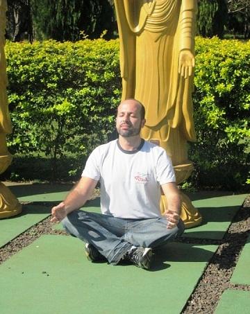 Maurício zen. Imagem: Julie Fank