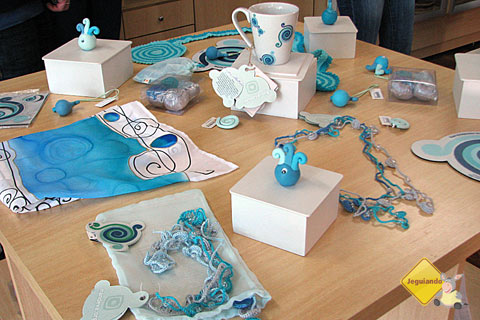 COART (Cooperativa de Artesanato) reúne peças produzidas por locais em Foz do Iguaçu. Imagem: Janaína Calaça