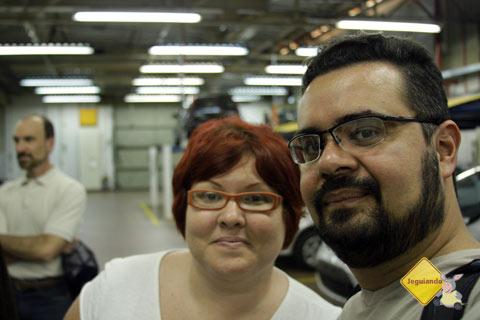 Jana e Eu no Ford Open House - Imagem: Erik Pzado
