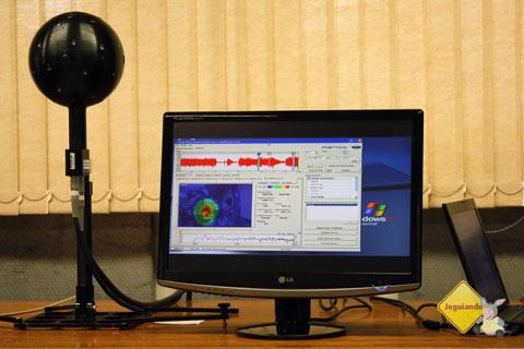 Noise Vision em operação