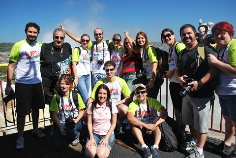 14 blogueiros brasileiros se reúnem para desbravar a terra das Cataratas. Imagem: Ana Catarina Portugal
