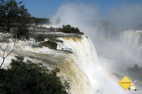 Cataratas Iguaçu, Foz do Iguaçu, PR. Imagem: Janaína Calaça