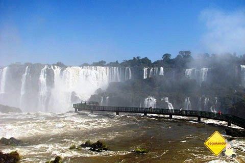 Cataratas do Iguaçu, Foz do Iguaçu, PR. Imagem: Janaína Calaça
