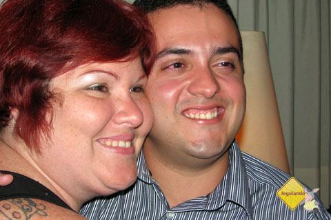 Jana Calaça e Átila Ximenes (Cearense arretado, amigo do peito!). Imagem: Jeguiando