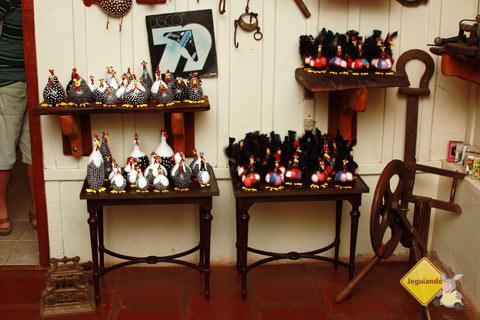 Galinhas de angola feitas na cabaça. Armazém do João. Imagem: Erik Pzado