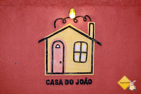 Casa do João, um dos restaurantes imperdíveis de Bonito. Imagem: Erik Pzado