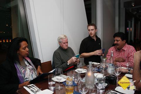 Ruby, Doug English, Kasinath! Companheiros de viagem. Imagem: Erik Pzado