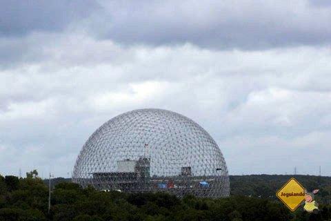 Biosphère, construída entre 1965 e 1967 para The Expo World's fair de 1967. Imagem: Erik Pzado