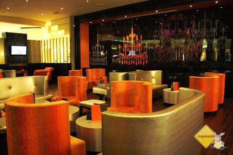 Lounge L1. West Edmonton Mall, Edmonton, Alberta, Canadá. Imagem: Janaína Calaça