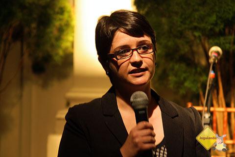 Melissa Leite, editora responsável pelo projeto. Imagem: Márcio Nel Cimatti, do blog A Janela Laranja