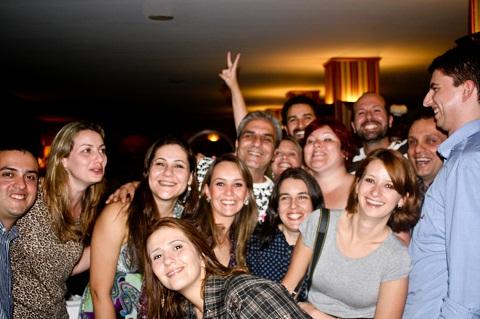 Todo mundo junto! Imagem: João Aguiar
