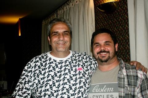 João e Pedrinho, amigos queridos. Imagem: João Aguiar
