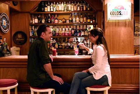 Bar do Hotel Bella Itália. Foz do Iguaçu, PR. Imagem: Divulgação Hotel Bella Itália