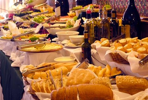 Jantar Noite Italiana. Hotel Bella Itália, Foz do Iguaçu, PR. Imagem: Divulgação Hotel Bella Itália