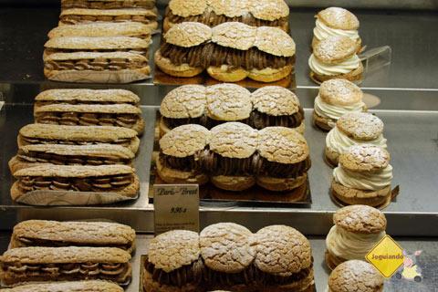 Doces. Premiere Moisson, Marché Jean-Talon (Jean-Talon Market), Montréal, Canadá. Imagem: Erik Pzado
