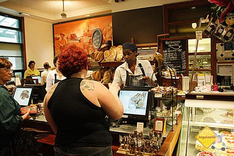 Premiere Moisson, padaria localizada no Jean-Talon Market. Montréal, Canadá. Imagem: Erik Pzado