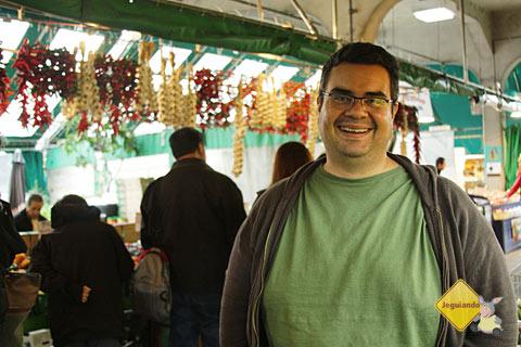 Erik no Marché Jean-Talon (Jean-Talon Market), Montréal, Canadá. Imagem: Janaína Calaça