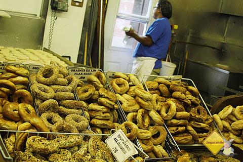 St-Viateur Bagel é uma das casas de bagel mais tradicionais de Montréal. Imagem: Erik Pzado