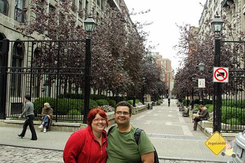 Caminhada por Old Montréal, Montréal, Canadá. Imagem: Erik Pzado