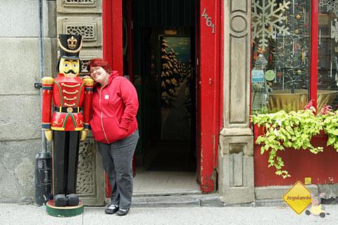 Natal o ano inteiro! Old Montréal, Montréal, Canadá. Imagem: Erik Pzado