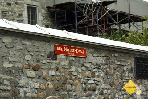Rue Notre-Dame, Montréal, Canadá. Imagem: Erik Pzado