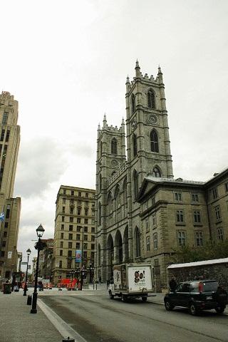 Igreja de Notre-Dame, Montréal, Canadá. Imagem: Erik Pzado