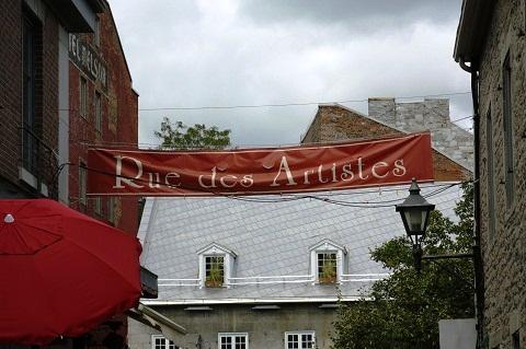 Rue des Artistes. Old Montréal, Montréal, Canadá. Imagem: Erik Pzado