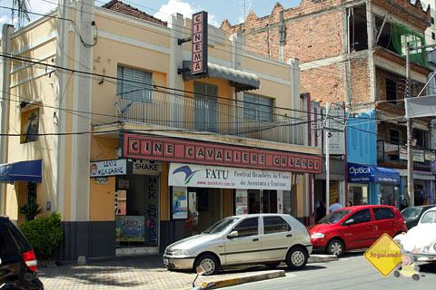 Cine Cavalieri Orlandi, em Socorro, exibiu a mostra de filmes do FATU, já em sua 7ª edição. Imagem: Erik Pzado
