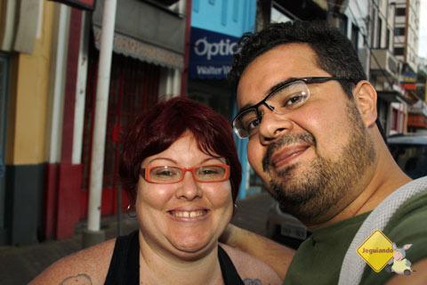 Jana Calaça e Erik Pzado na 7ª edição do FATU. Socorro, SP. Imagem: Erik Pzado