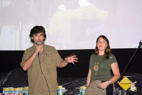 Yuri e Vera Sanada, idealizadores do FATU. Imagem: Erik Pzado