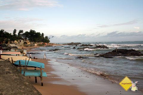 Fim de tarde em Itapoã, Salvador, Bahia. Imagem: Janaína Calaça