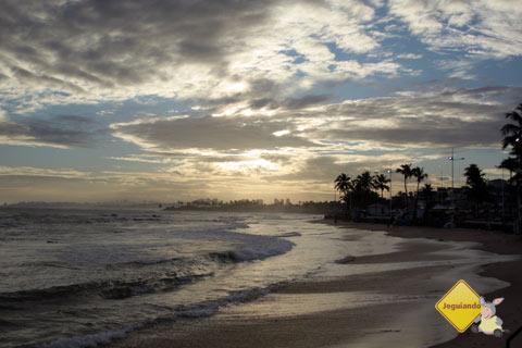 E o sol vai embora emm Itapoã. Salvador, Bahia. Imagem: Janaína Calaça