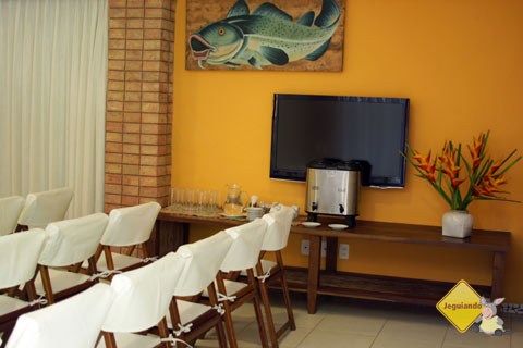 Salão de Eventos do Hotel Via dos Corais. Praia do Forte, Bahia. Imagem: Janaína Calaça