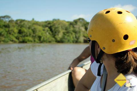 No balanço tranquilo das águas do Rio Pojuca. Imagem: Janaína Calaça