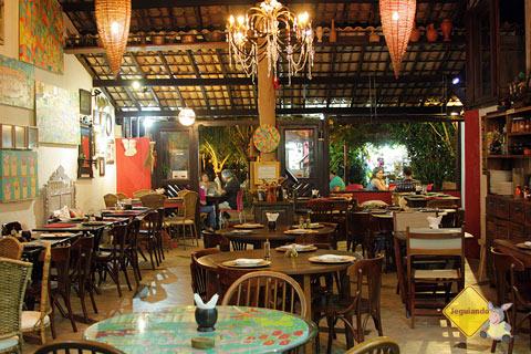 Restaurante Terreiro Bahia, da chef baiana Tereza Paim. Praia do Forte, BA. Imagem: Janaína Calaça