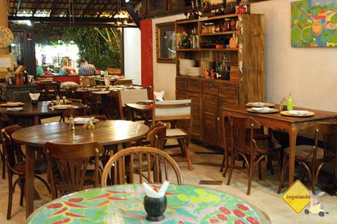 Restaurante Terreiro Bahia, Praia do Forte, Bahia. Imagem: Janaína Calaça