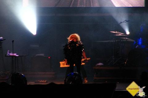 Goldfrapp no Indie Stage. Planeta Terra 2011, São Paulo. Imagem: Erik Pzado