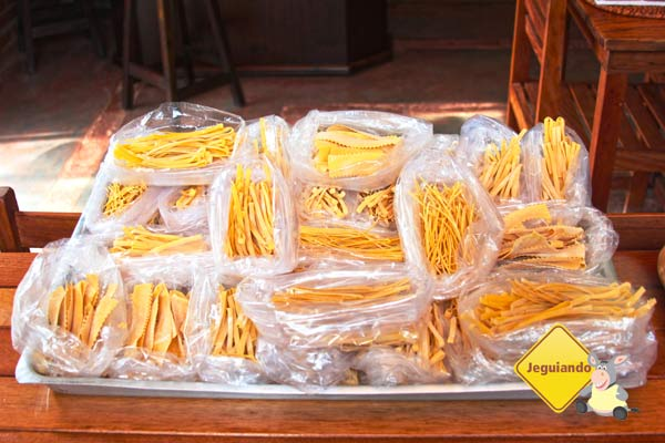 Massa artesanal, preparada pelo chef Ernani Tedeschi. Imagem: Erik Pzado