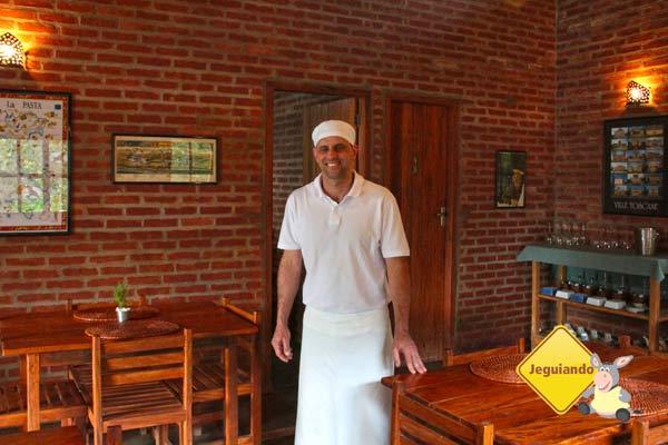 Chef Ernani Tedeschi. Imagem: Erik Pzado