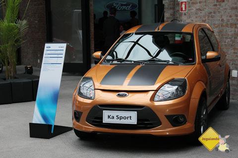 Ford Ka Sport 2012. Imagem: Erik Pzado