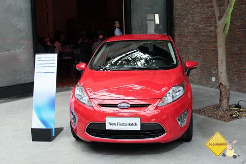 New Fiesta Hatch 2012. Imagem: Erik Pzado