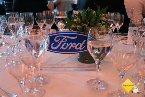 Almoço de confraternização da Ford Brasil. Imagem: Erik Pzado