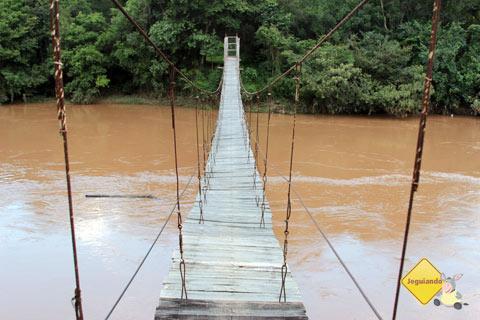 Ponte sobre o Rio das Mortes. Fazenda do Pombal, Ritápolis, MG. Imagem: Erik Pzado